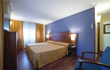 Habitación Hotel Torreluz Centro